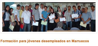 cideal presenta curso para desempleados en marruecos