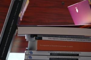 Publicaciones sobre cooperación al desarrollo.